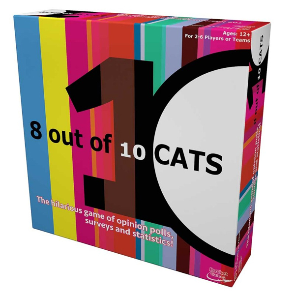 8 Out of 10 Cats Board Game - Board Game Gifts