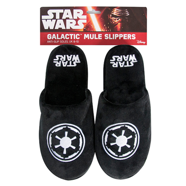 Galactic Empire Star Wars Slippers - Star Wars Gifts