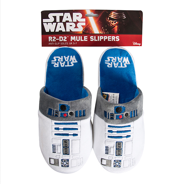 R2-D2 Star Wars Slippers - Star Wars Gifts