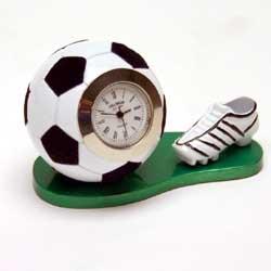 Miniature Clock Football and Boot