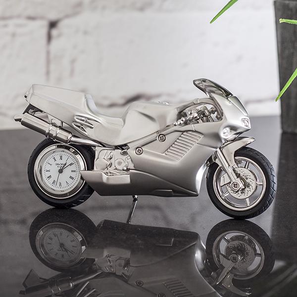 Motorbike Miniature Clock - Motorbike Gifts