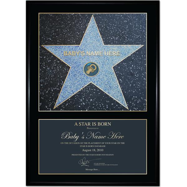 A Star Is Born Baby Boy - Blue