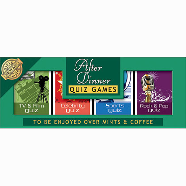 After Dinner Quiz Games - Games Gifts