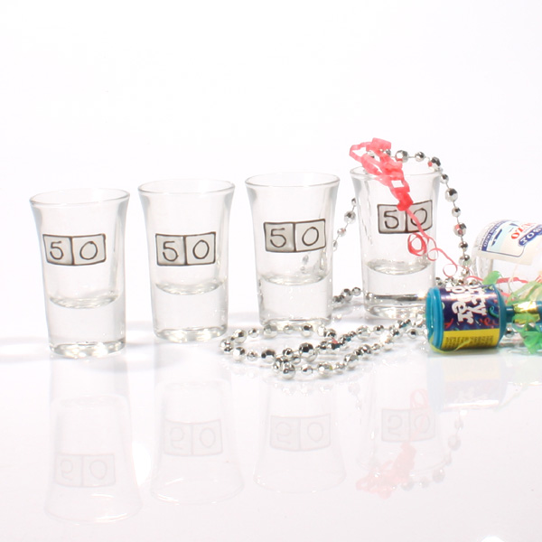 Age Shot Glasses 50