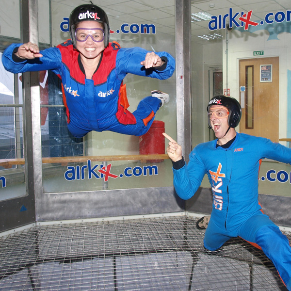 2 For 1 Airkix Indoor Skydiving Special Offer