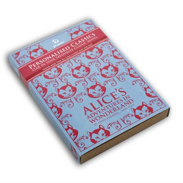 Personalised Classic Books Alice In Wonderland - Books Gifts