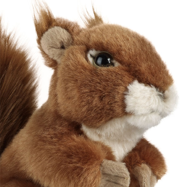 Living Nature Squirrel Soft Toy - Nature Gifts
