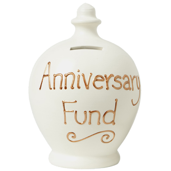 Anniversary Personalised Terramundi Money Pot