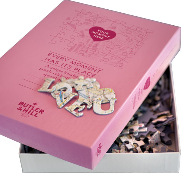 Where We First Met Personalised Jigsaw - Jigsaw Gifts