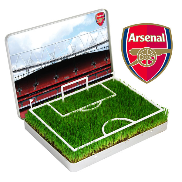 Grow Your Own Mini Football Pitch Arsenal - Arsenal Gifts
