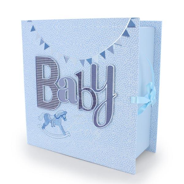 Baby Boy Keepsake Box With Drawers - Keepsake Gifts