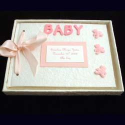 Personalised Baby Album Girl