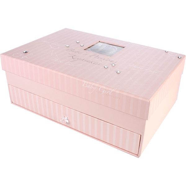 Baby Girl Keepsake Box - Keepsake Gifts