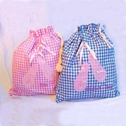 Ballet Bag Pale Pink  plus Name