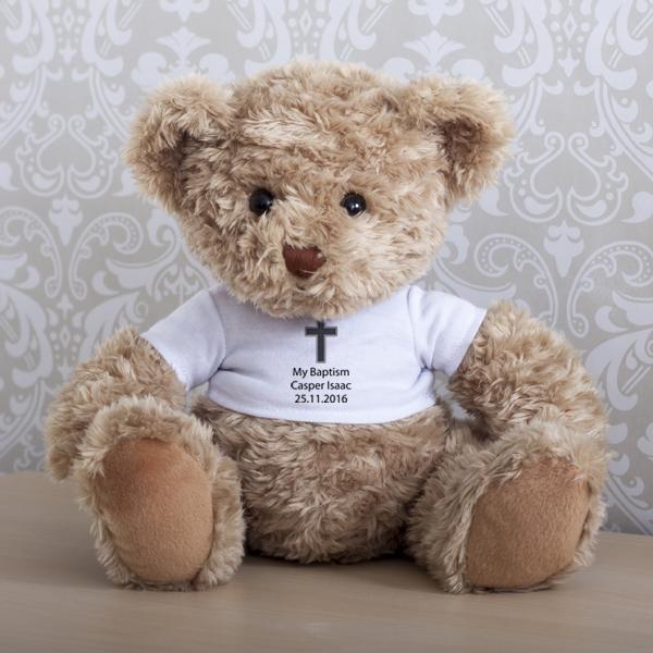 Personalised Baptism Teddy Bear