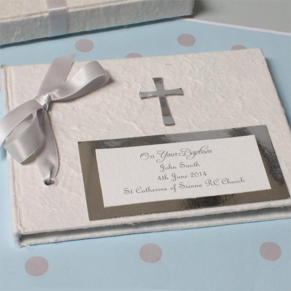 Personalised Baptism Photo Album - Photo Album Gifts