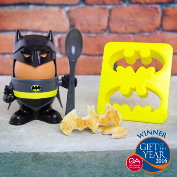 Batman Egg Cup and Toast Stamp - Batman Gifts