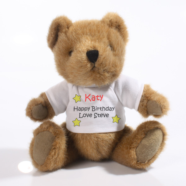 Personalised Traditional Jointed Teddy Bear