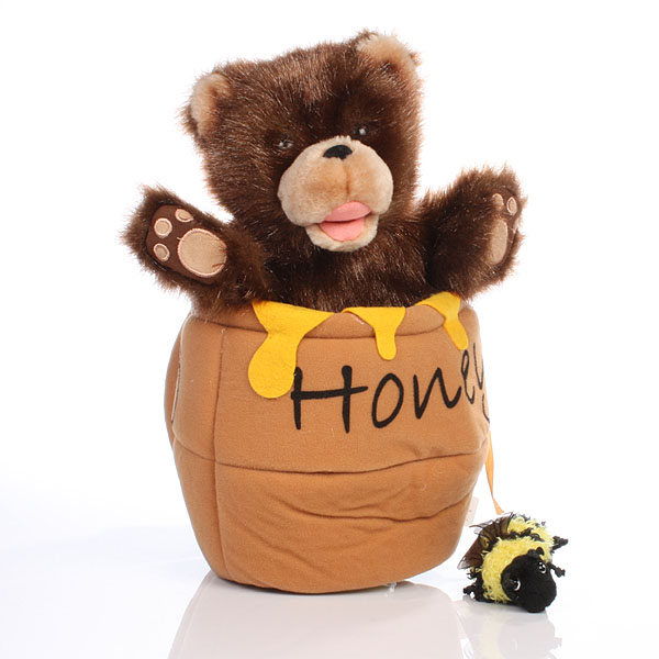 Bear in a Honey Pot - Soft Toys Gifts