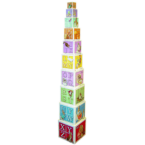 Beatrix Potter Stacking Blocks - Beatrix Potter Gifts
