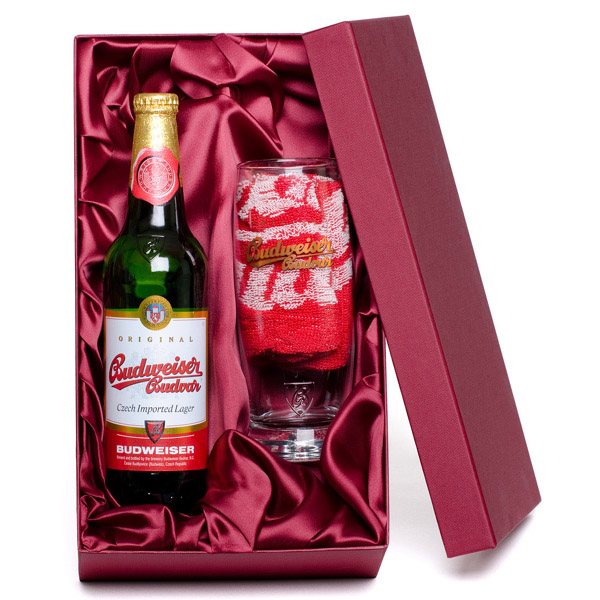 Budweiser Glass Gift Set