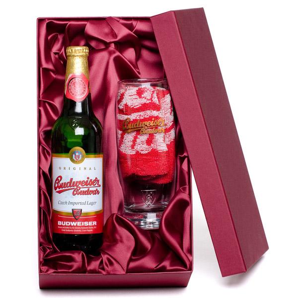 Personalised Budweiser Budvar Gift Pack