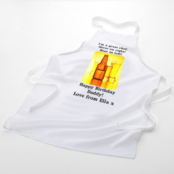 Great Chef With Beer Apron - Beer Gifts