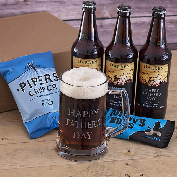 Personalised Ultimate Pub in a Box – Craft Cardboard Gift Box Hamper - Pub Gifts
