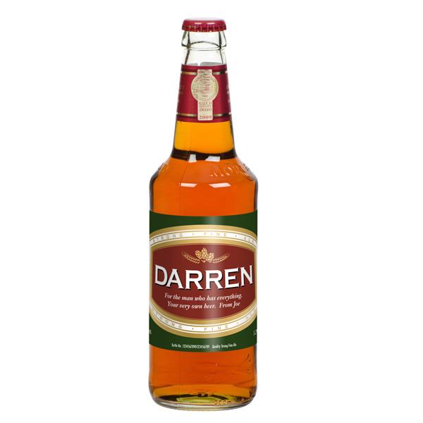 Personalised Bottle Of Beer - Beer Gifts