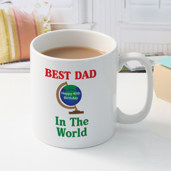 Best Dad In The World Mug - Dad Gifts