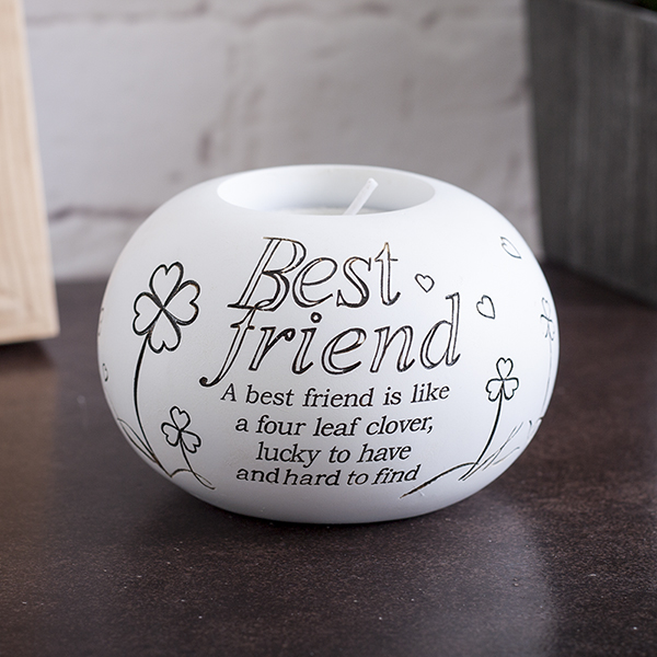 Best Friend Tealight Holder - Best Friend Gifts