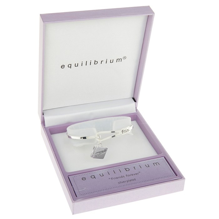 Friends Forever Bangle in Personalised Box - Friends Gifts
