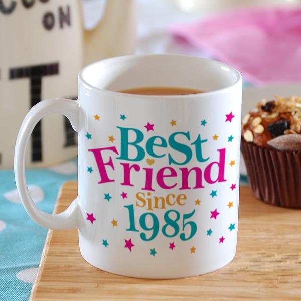 Personalised Best Friend Since Mug