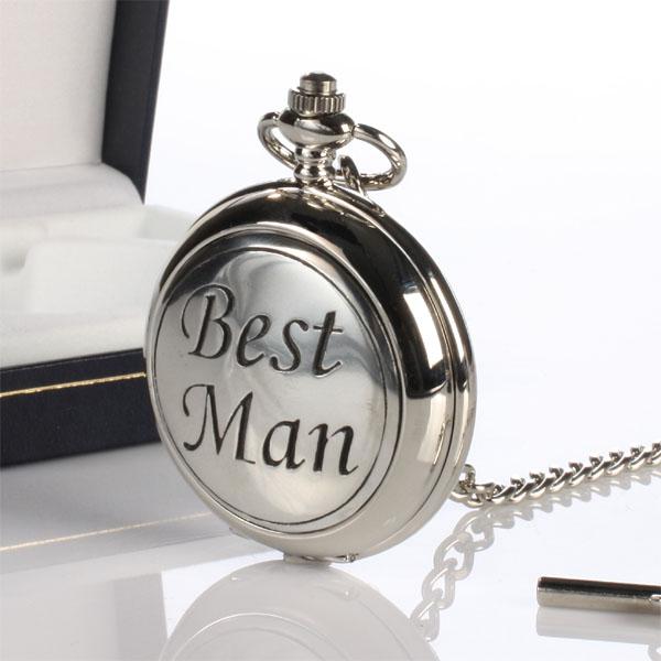 Best Man Engraved Personalised Pocket Watch BestMan GP | eBay