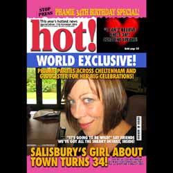 Birthday Magazine Covers Hot