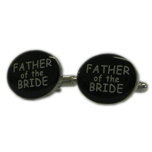 Wedding Party Cufflinks With Personalised Box Father Of The