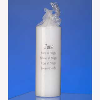 Unity Candle - Love Bears All