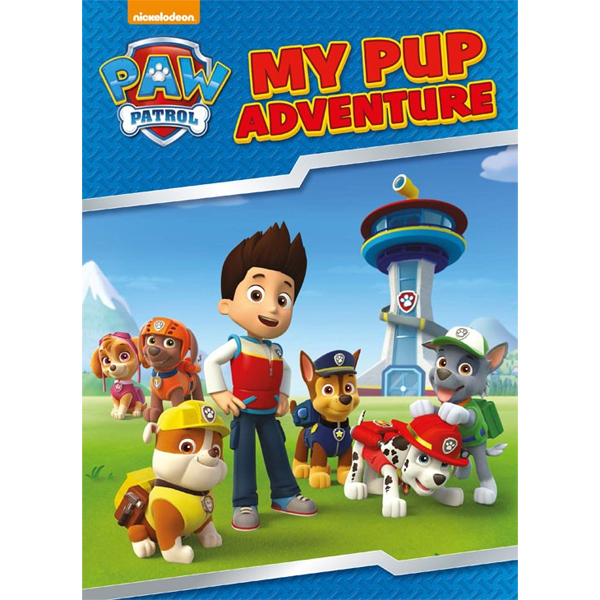 PAW Patrol: My Pup Adventure - Personalised Book Big Size - Paw Patrol Gifts