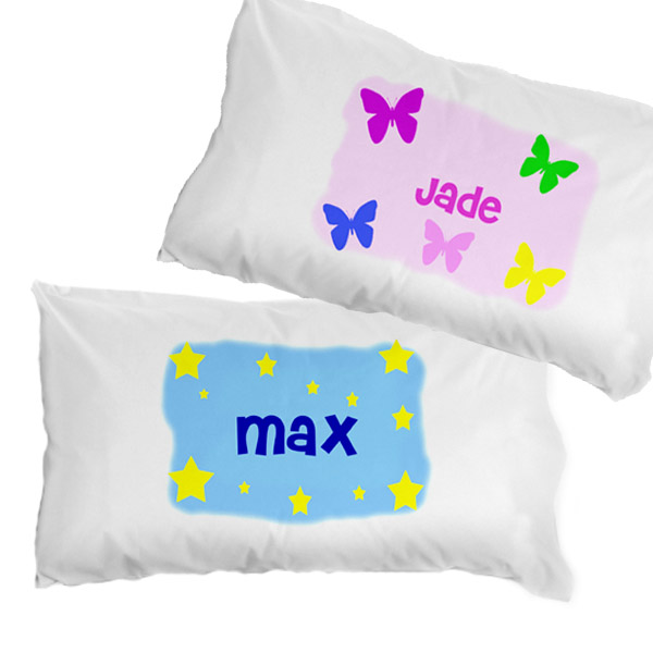 Personalised Childrens Pillowcase - Girl - Children's Birthday Your Kids Bday - 1st Birthday
