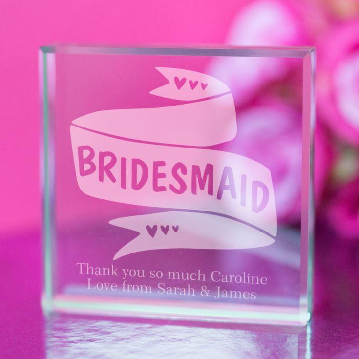 Personalised Bridal Party Memory Box Bridesmaid