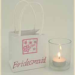 Bridesmaid Nightlight keepsake and Bag