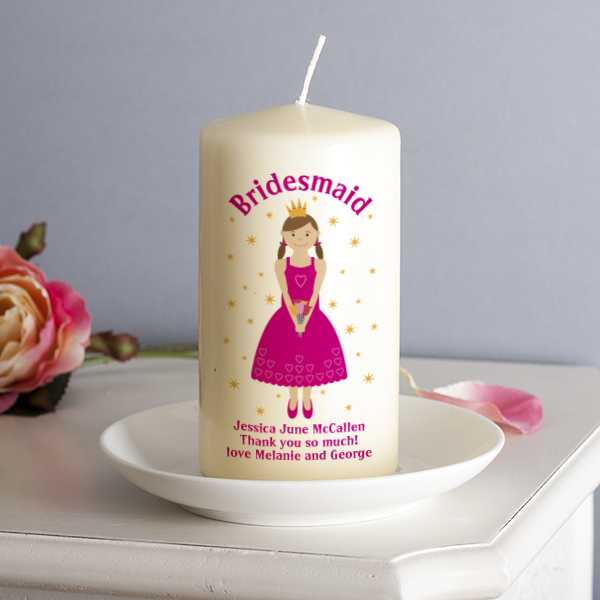 Bridesmaid Candle Flower Girl