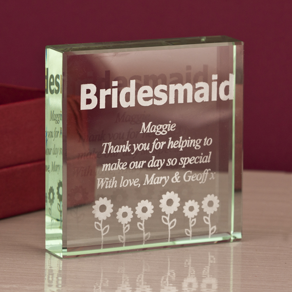 Bridesmaid Keepsake