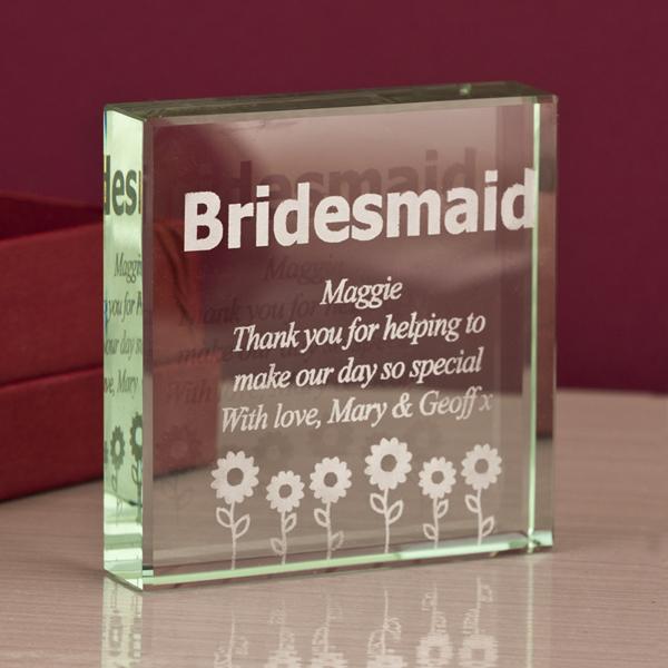 Bridesmaid Keepsake - Bridesmaid Gifts