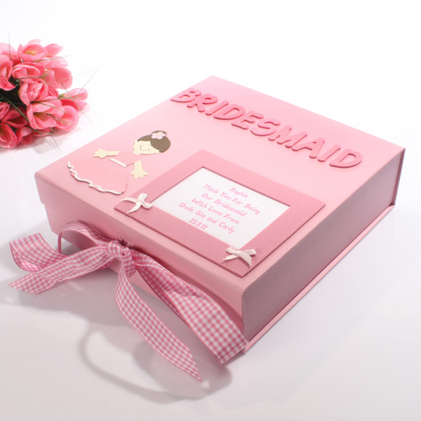 Personalised Bridal Party Memory Box Bridesmaid