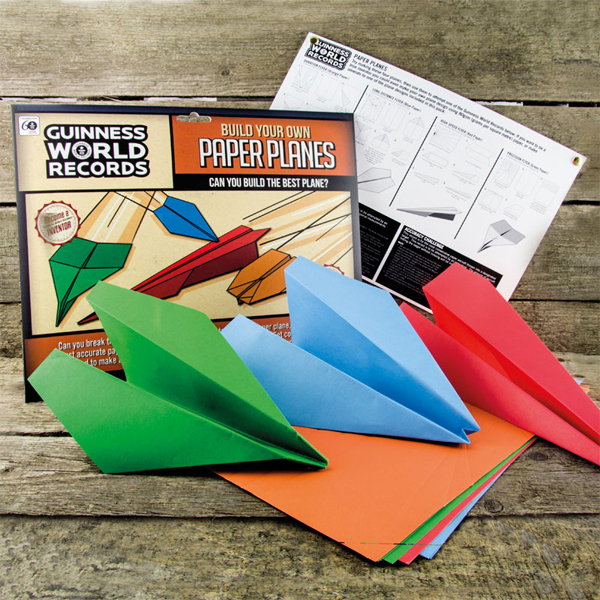 Build Your Own Paper Planes - Build Your Own Gifts