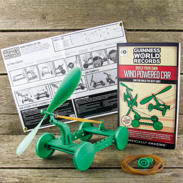 Build Your Own Wind Powered Car - Build Your Own Gifts