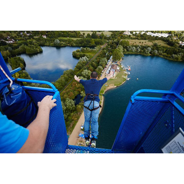 Experience A 160ft Bungee Jump