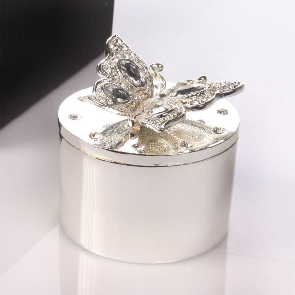 Engraved Butterfly Trinket Box - Box Gifts