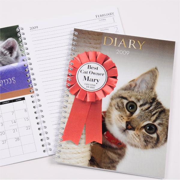 Personalised Cat Diary